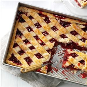 Apple Cranberry Slab Pie | ReeRee Yarbrough | Copy Me That
