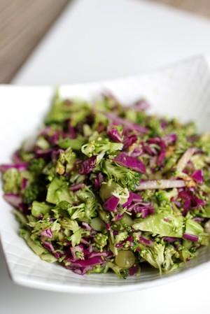 Asian Broccoli Slaw | VickiLouWhoU | Copy Me That