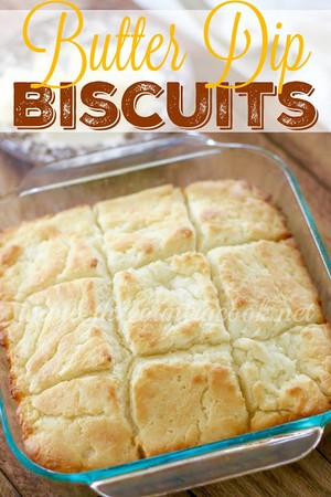 Butter Dip Buttermilk Biscuits | Rene | Copy Me That