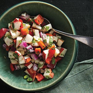 Fresh Apple Salsa | ReeRee Yarbrough | Copy Me That