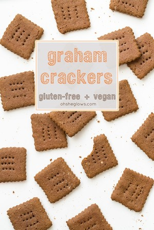 Gluten-Free and Vegan Graham Crackers | Kravisty | Copy Me That