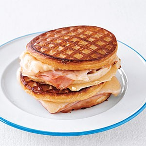Grilled Ham and Cheese Waffle Sandwiches | ReeRee Yarbrough | Copy Me ...