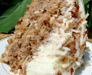Hawaiian Wedding Cake with Whipped Cream Cheese Frosting Joann
