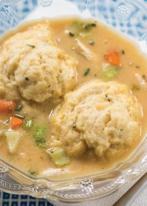 Healthy Weeknight Chicken and Dumplings « Marlene Koch Marlene