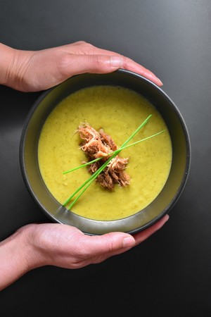 Instant Pot Curried Cream of Broccoli Soup | Laura S | Copy Me That