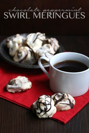 ... Peppermint Swirled Meringues | Jennifer Ferdinand | Copy Me That