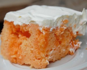Diabetic Orange Creamsicle Cake Recipe