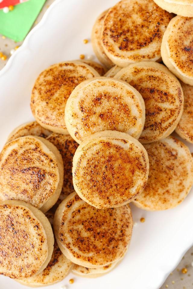 Best Creme Brûlée Sugar Cookies | Jeannemar | Copy Me That