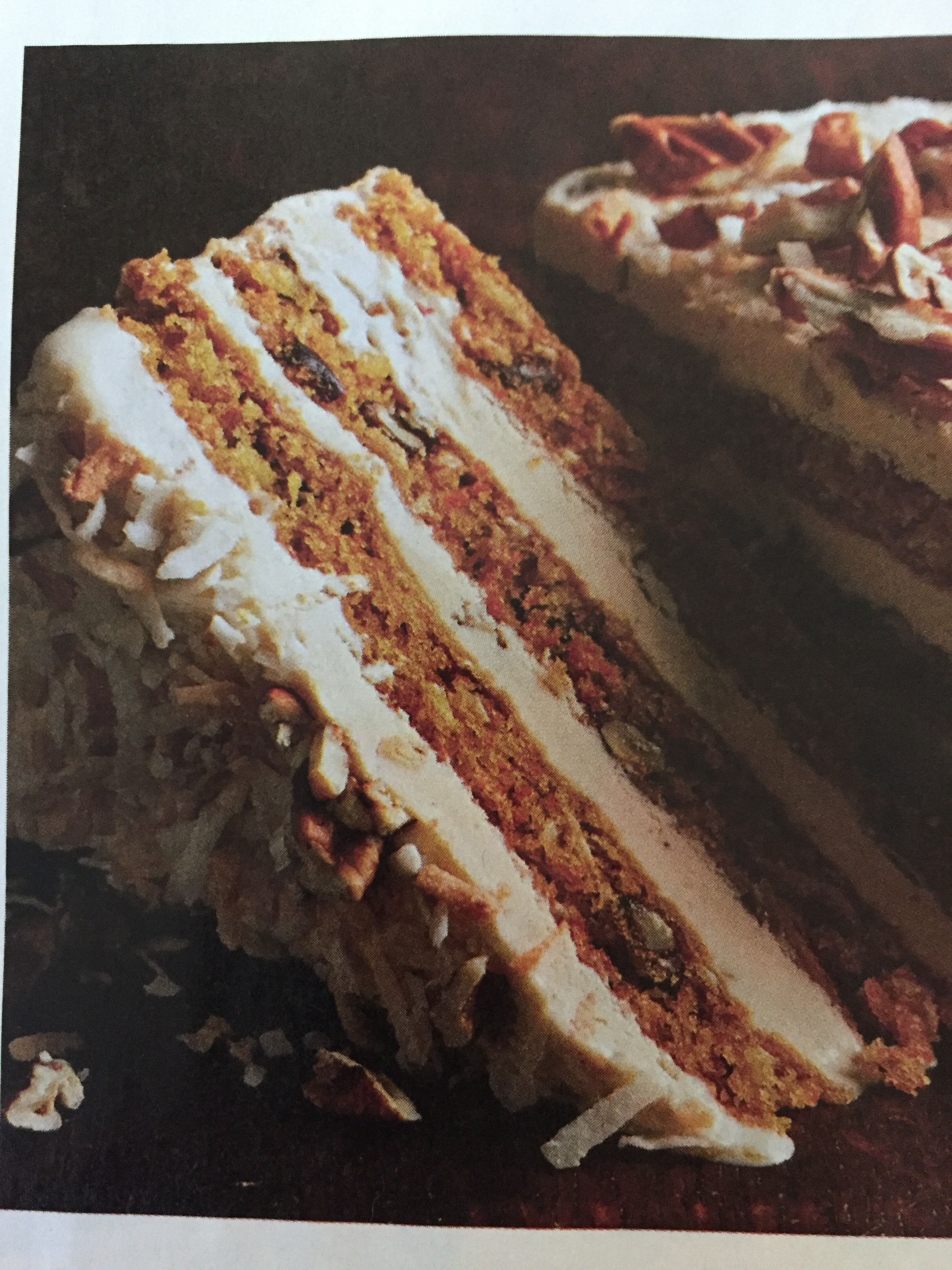 Carrot Cake Recipe With Coconut And Pecans