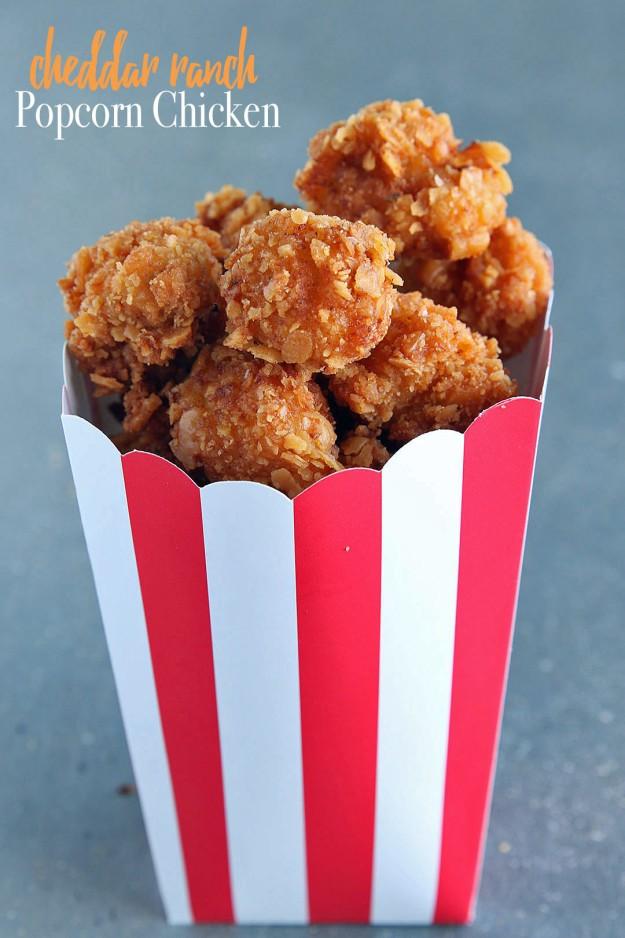 Cheddar Ranch Popcorn Chicken | allebull | Copy Me That