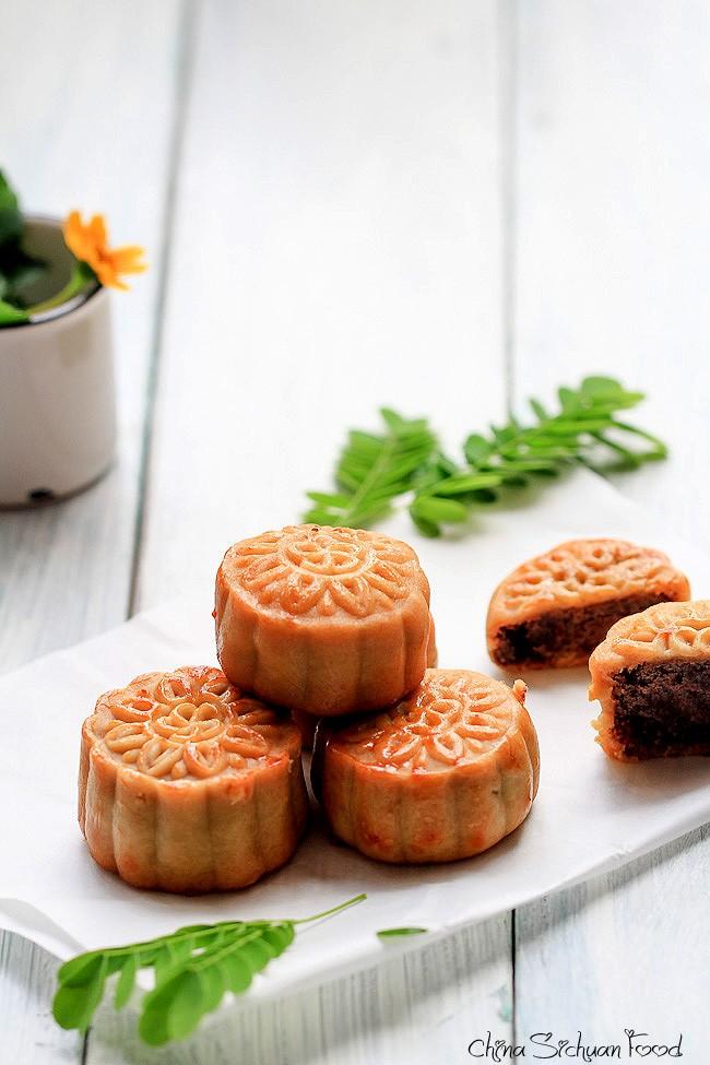 China moon cake recipes