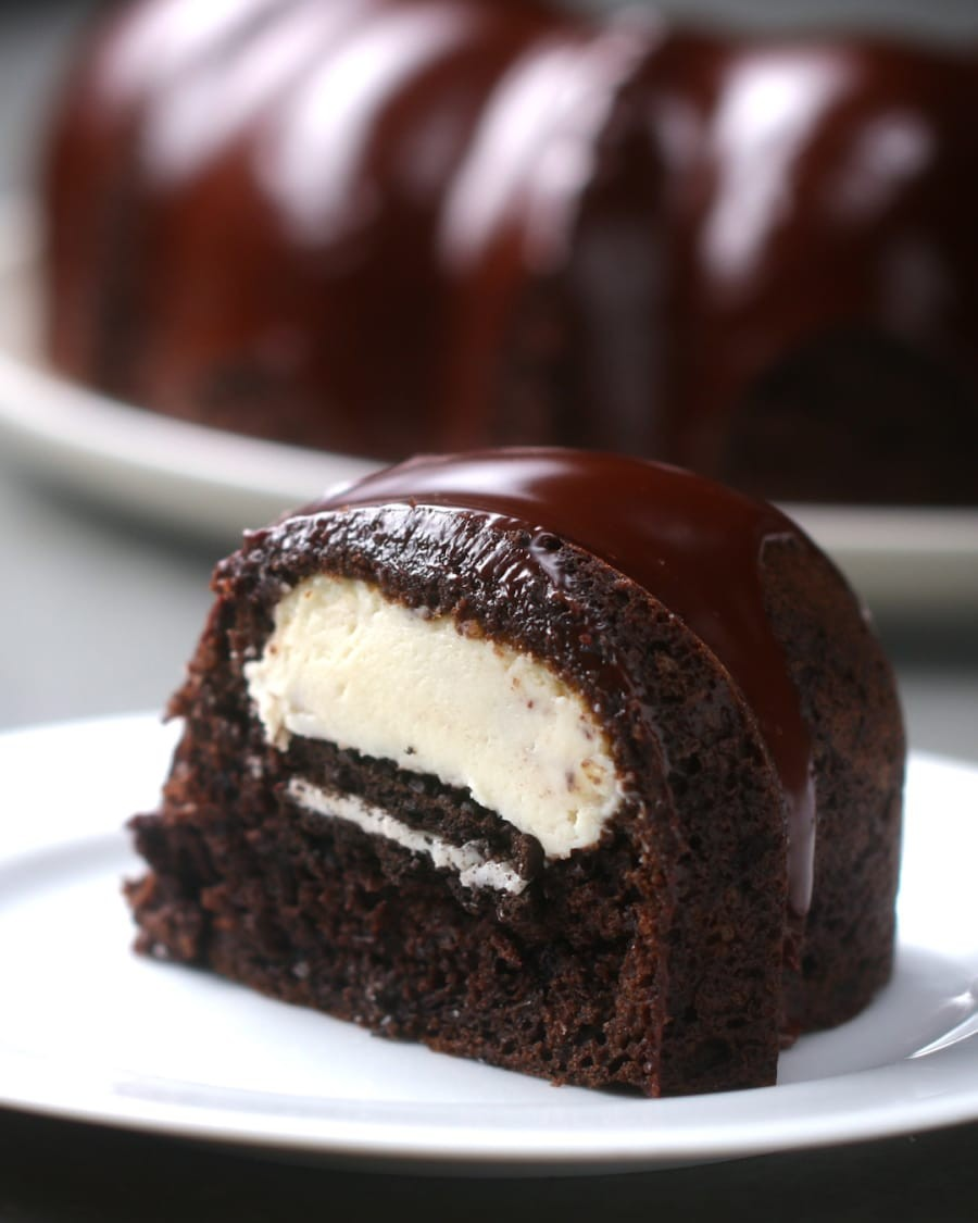 Chocolate Cream Cheese Bundt Cake