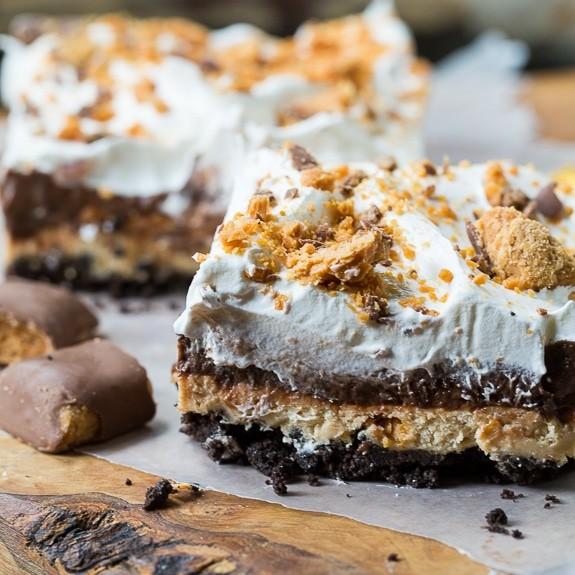 Chocolate Pudding Peanut Butter Cool Whip Dessert