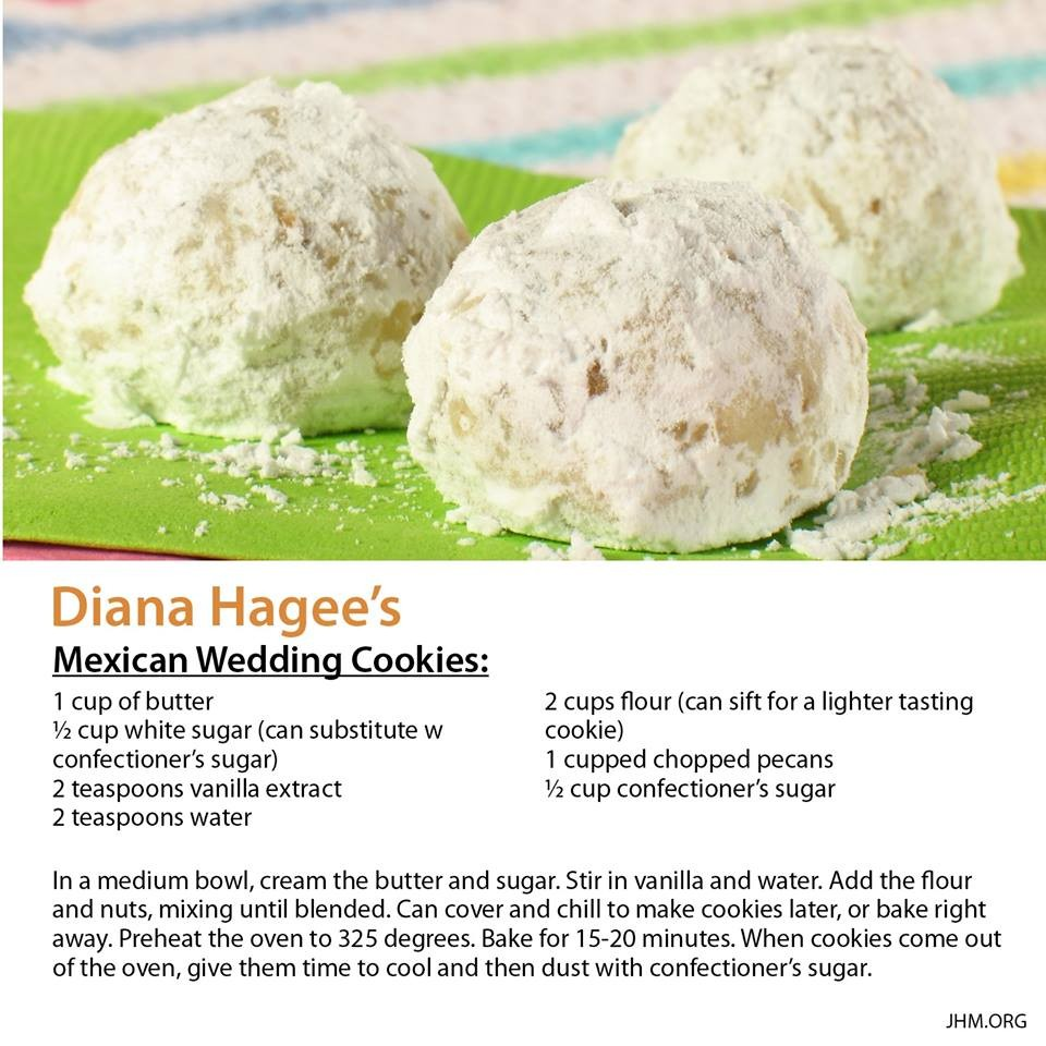 Diana Hagees Mexican Wedding Cookies ChefKate Copy Me That