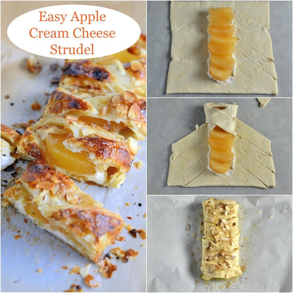 Easy Apple Cream Cheese Strudel | Di | Copy Me That