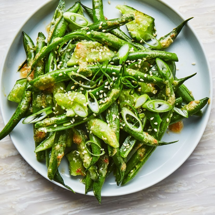 Green Beans and Cucumbers with Miso Dressing | Debbie Fenner | Copy Me ...