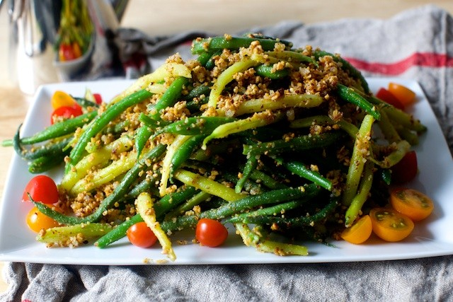 Green Beans with Almond Pesto | nate911 | Copy Me That
