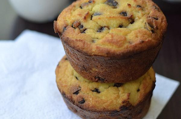Keto Coconut Flour Chocolate Chip Muffins Wanda