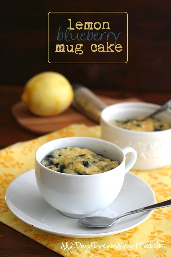 Coconut Flour Lemon Mug Cake