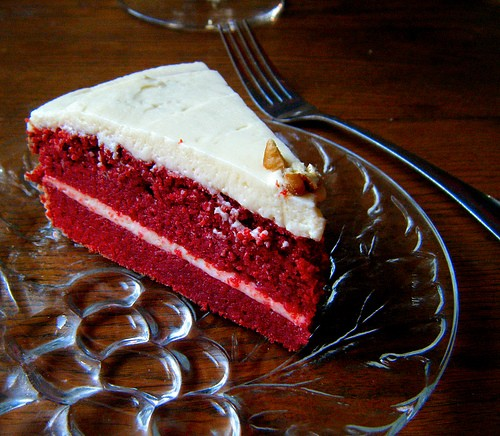 Low Carb Gluten Free Red Velvet Cake