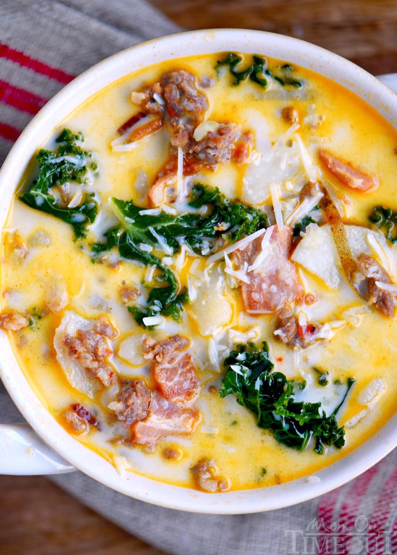 One Pot Olive Garden Zuppa Toscana Soup tenfromseventy Copy Me