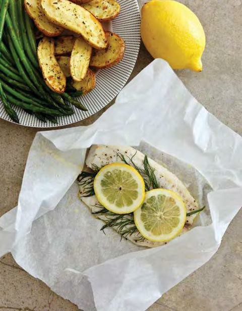 Instant pot lemon and dill fish packets stinkybutt455 for Instant pot fish