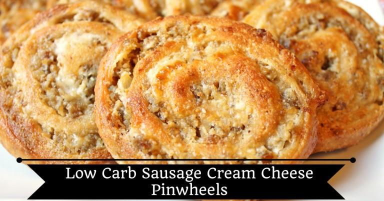 Sausage Cream Cheese Pinwheels Low Carb, Gluten Free | Cheryl | Copy ...