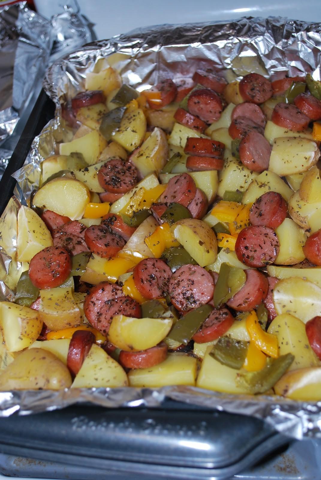 Smoked Sausage and Potato Bake | Linda Tinney | Copy Me That