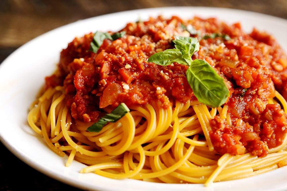 Спагетти с соусом болоньезе рецепт с фото