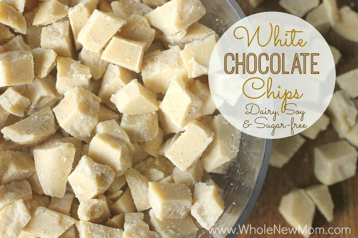 White Chocolate Chips (Dairy, Soy, and Sugar Free) | SueC | Copy ...