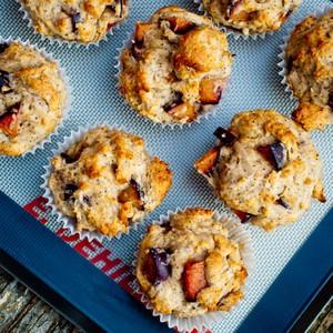 Smitten Kitchen Cookbook plum poppyseed muffins from the smitten kitchen cookbook | cherylc