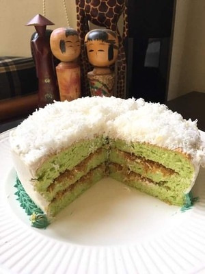 Ondeh Ondeh Gula Melaka Pandan Layer Cake Jenny Lim