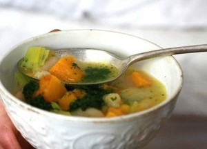 White Bean and Roasted Squash Soup with Pistou | Debbie Fenner | Copy ...