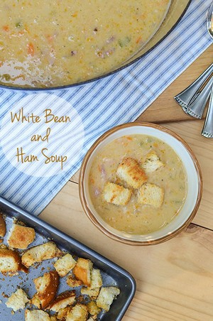 White Bean and Ham Soup | AnnaV | Copy Me That